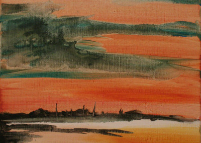 oranje-landschap